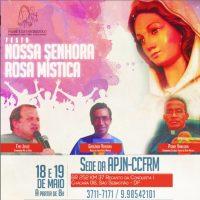 Participe da Festa de Nossa Senhora de Rosa Mística