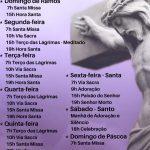 Acompanhe Ao Vivo a Semana Santa no Instituto Missionário Rosa Mística
